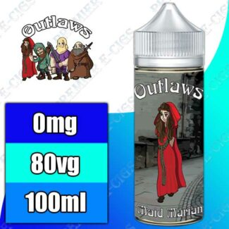 Outlaws 100ml Shortfill