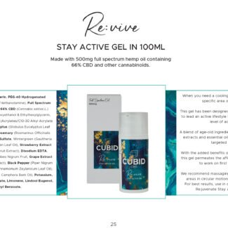 Cubid Revive – Muscle Gel 500mg